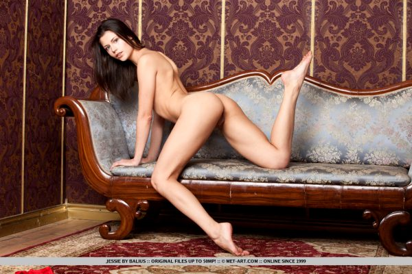 cute-brunette-jessie-takes-off-her-red-underwear-on-the-sofa_013